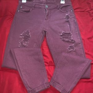 Vanilla Star Pants - Size 5 - vanilla star distressed jeans